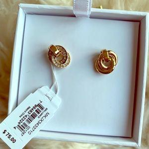 NWT ($75) Michael Kors interlocking earings